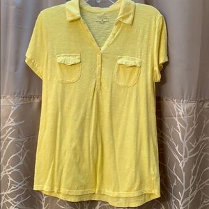 Sonoma Yellow Polo Tee